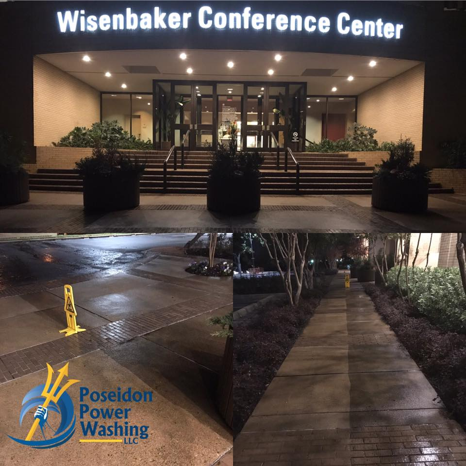 Commercial Concrete Power Washing Tyler TX