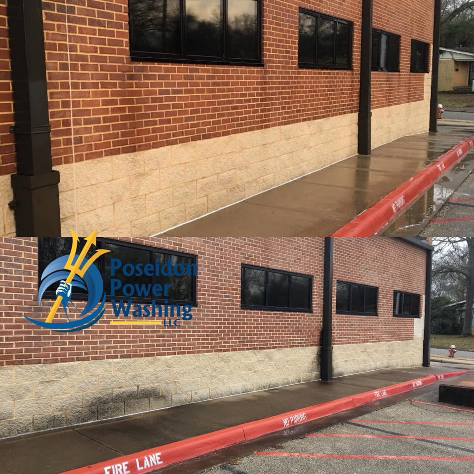 Commercial Concrete Cleaning Tyler TX