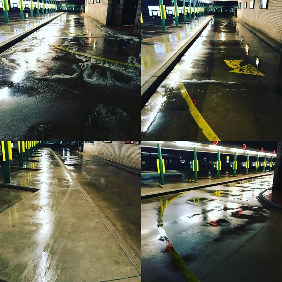 Drive Thru Power Washing Tyler TX